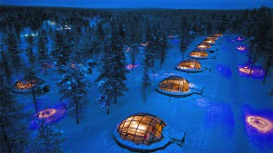 Small glass igloo - Lapponia