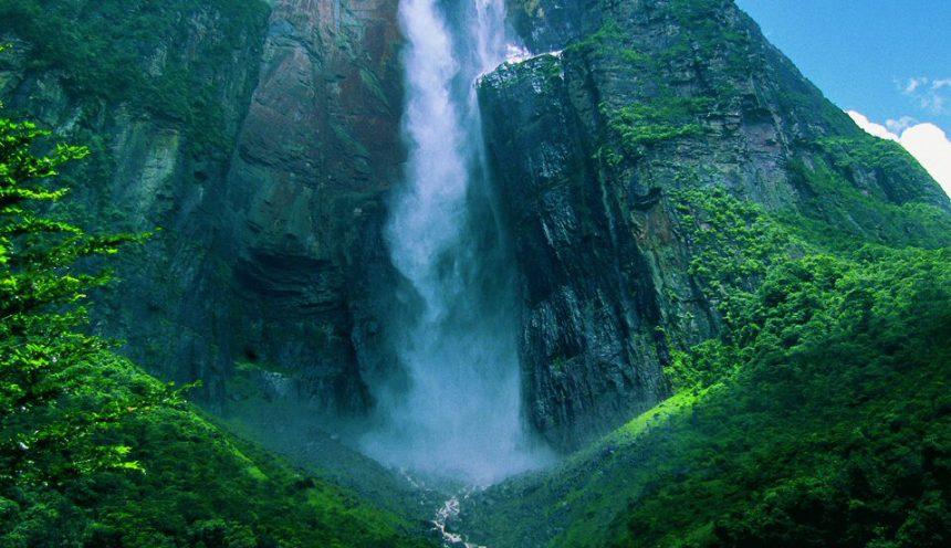 Venezuela – Salto Angel – La cascata più alta del mondo