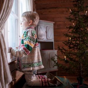 Atmosfere natalizie da Babbo Natale