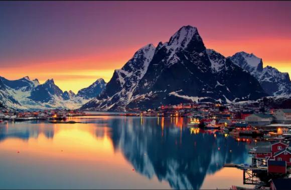 Norvegia -- I colori dell'Artico
