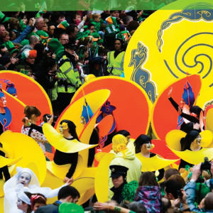 Festival di San Patrizio a Dublino